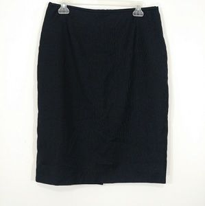 Calvin Klein pinstriped pencil skirt size 10